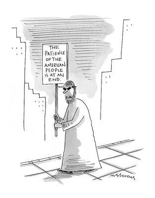 Starr Drawing - New Yorker November 16th, 1998 by Mick Stevens