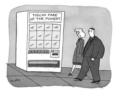 New Yorker November 17th, 1997 Art Print by Peter C. Vey