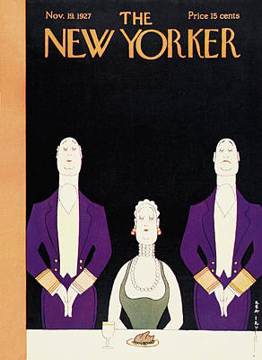 New Yorker November 19th, 1927 Art Print by Rea Irvin