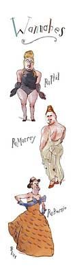 New Yorker November 1st, 1993 Art Print by Barry Blitt