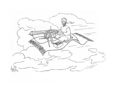 Sharpshooter Drawing - New Yorker November 20th, 1943 by George Price