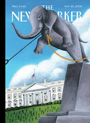 Republican Painting - New Yorker November 20th, 2006 by Mark Ulriksen