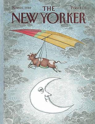 Farm Painting - New Yorker November 21st, 1988 by John O'Brien