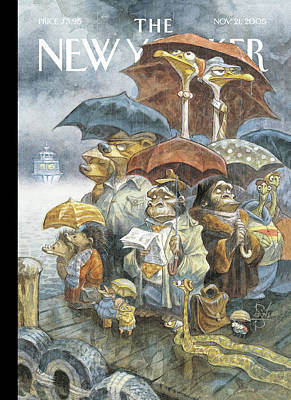 Peter-de-seve Painting - New Yorker November 21st, 2005 by Peter de Seve