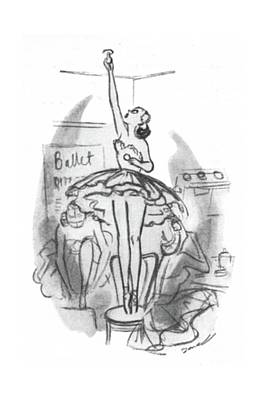 Bulb Drawing - New Yorker November 22nd, 1941 by Leonard Dove