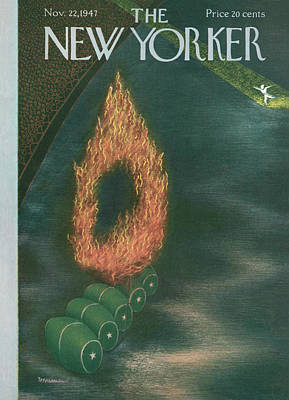New Yorker November 22nd, 1947 Art Print
