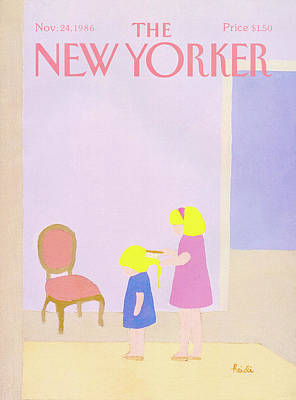 Painting - New Yorker November 24th, 1986 by Heidi Goennel