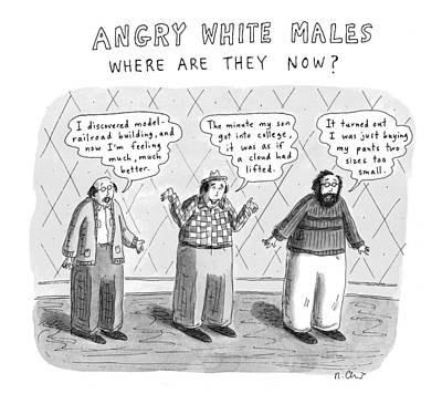 New Yorker November 24th, 1997 Art Print by Roz Chast