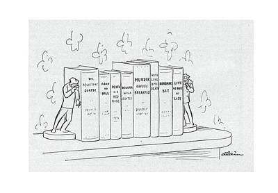 November 26th Drawing - New Yorker November 26th, 1949 by  Alain