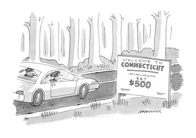 Hallmark Drawing - New Yorker November 27th, 1995 by Mick Stevens