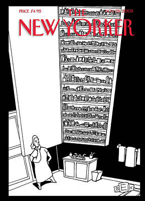 Giant Painting - New Yorker November 28th, 2005 by Bruce Eric Kaplan