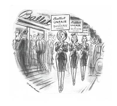 New Yorker November 30th, 1940 Art Print by Leonard Dove