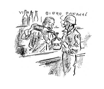 New Yorker November 4th, 1944 Art Print by Alan Dunn