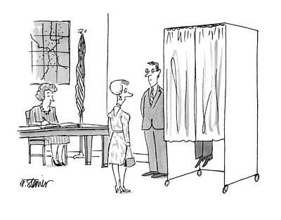 New Yorker November 8th, 1993 Art Print by Peter Steiner