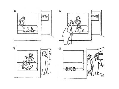 Pet Care Drawing - New Yorker October 11th, 1941 by Gardner Rea
