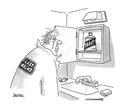 New Yorker October 12th, 1987 Art Print