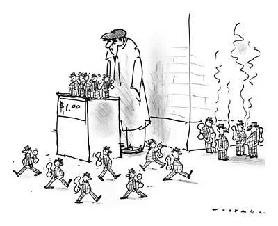 New Yorker October 13th, 1997 Art Print by Bill Woodman