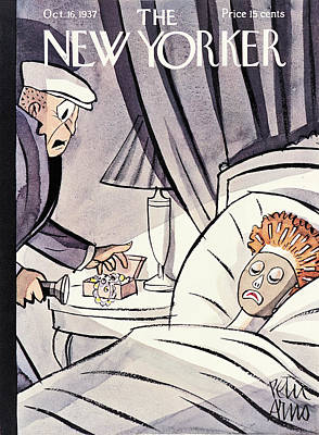 Arno Painting - New Yorker October 16th, 1937 by Peter Arno