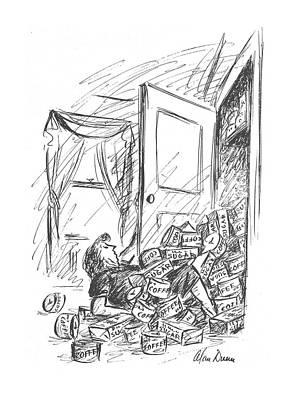 New Yorker October 16th, 1943 Art Print