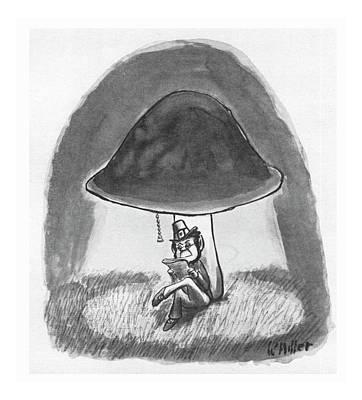 Vegetables Drawing - New Yorker October 16th, 1978 by Warren Miller