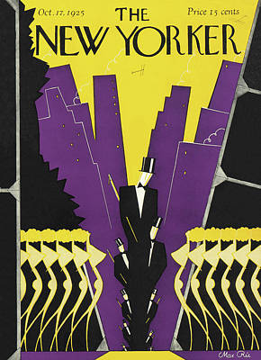 Dancer Painting - New Yorker October 17th, 1925 by Max Ree