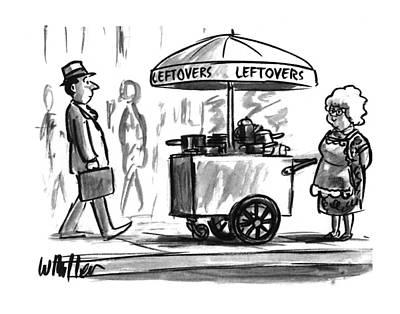 New Yorker October 17th, 1994 Art Print by Warren Miller