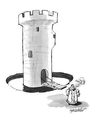 October 18th Drawing - New Yorker October 18th, 1993 by Mischa Richter