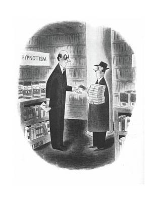Hypnosis Drawing - New Yorker October 19th, 1940 by Richard Taylor