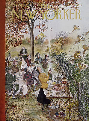 New Yorker October 20th, 1962 Art Print by Mary Petty