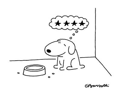Food Drawing - New Yorker October 20th, 1986 by Charles Barsotti