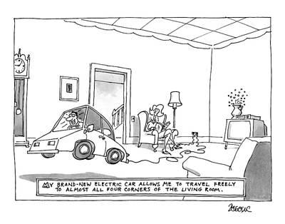 New Yorker October 20th, 1997 Art Print