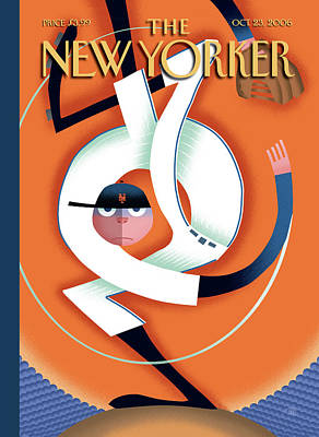 Painting - New Yorker October 23rd, 2006 by Bob Staake