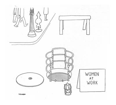 Warning Drawing - New Yorker October 24th, 1942 by Saul Steinberg