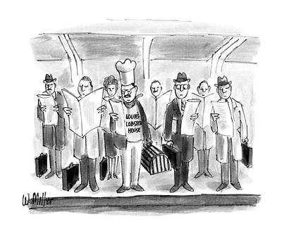 New Yorker October 24th, 1988 Art Print