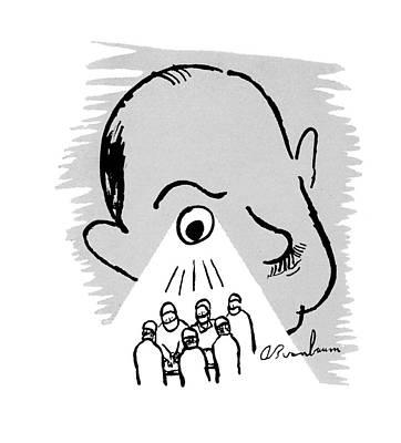 Abe Birnbaum Drawing - New Yorker October 25th, 1947 by Abe Birnbaum