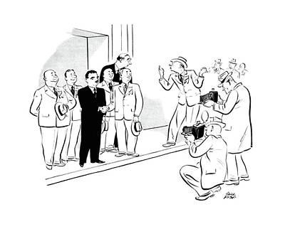 New Yorker October 28th, 1944 Art Print
