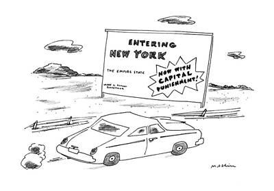 New Yorker October 2nd, 1995 Art Print