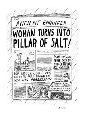 New Yorker October 5th, 1992 Art Print