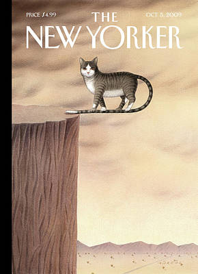 Painting - New Yorker October 5th, 2009 by Gurbuz Dogan Eksioglu