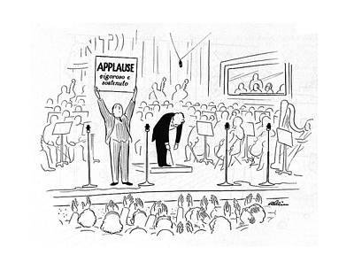 New Yorker October 7th, 1944 Art Print