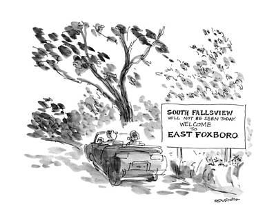 New Yorker October 8th, 1990 Art Print