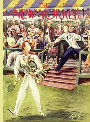 September 10th Painting - New Yorker September 10 1938 by Constantin Alajalov
