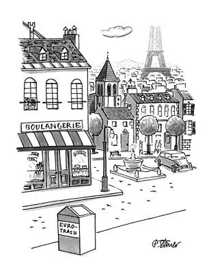 Read Drawing - New Yorker September 11th, 1995 by Peter Steiner