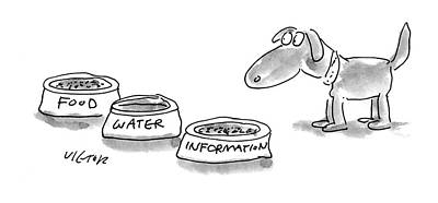 Information Drawing - New Yorker September 12th, 1994 by Dean Vietor