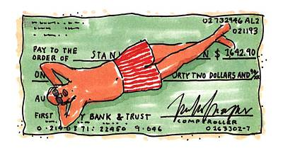New Yorker September 13th, 1993 Art Print by Michael Crawford