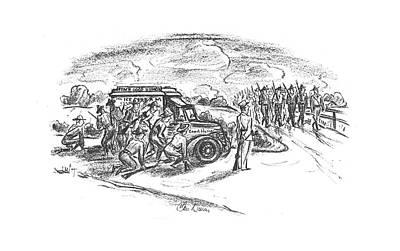 New Yorker September 14th, 1940 Art Print by Alan Dunn