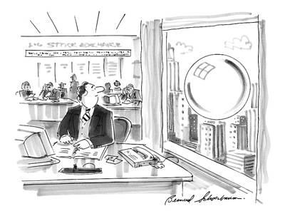 New Yorker September 15th, 1997 Art Print by Bernard Schoenbaum