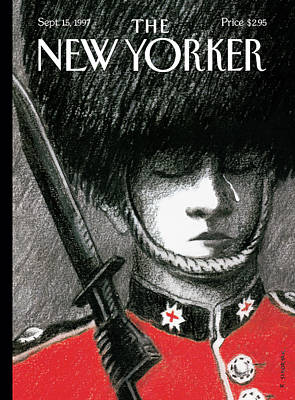 Cry Painting - New Yorker September 15th, 1997 by R. Sikoryak