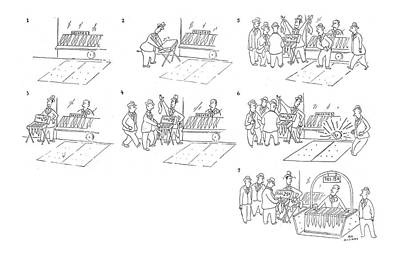 Competition Drawing - New Yorker September 16th, 1944 by Roy Williams