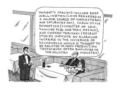 New Yorker September 16th, 1991 Art Print by Mick Stevens